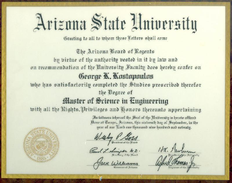 Phd degree in engineering